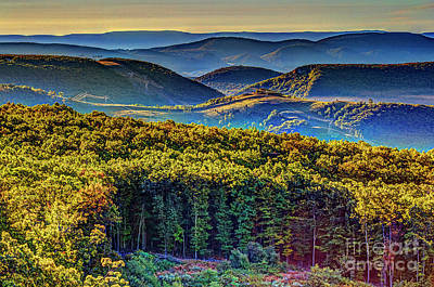 Photograph - Mountains In Early Autumn 2080hdrt by Doug Berry