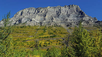 Photograph - Mountains In Glacier National Park by Marilyn Burton