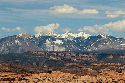 Photograph - Mountains In Moab - 3  by Christy Pooschke