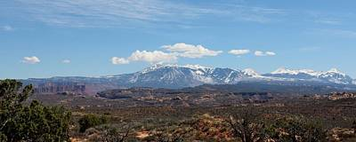 Photograph - Mountains In Moab - 7 by Christy Pooschke