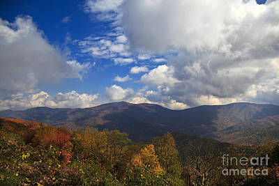 Photograph - Mountains In North Carolina by Jill Lang