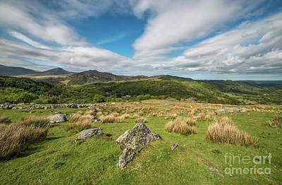 Moel Siabod Photograph - Mountains In Snowdonia by Adrian Evans