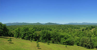 Photograph - Mountains In Summer Panorama by Jill Lang