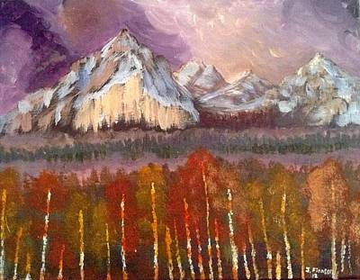 My Art Painting - Mountains  by My Art