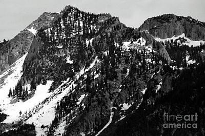 Mountains Art Print by Juls Adams