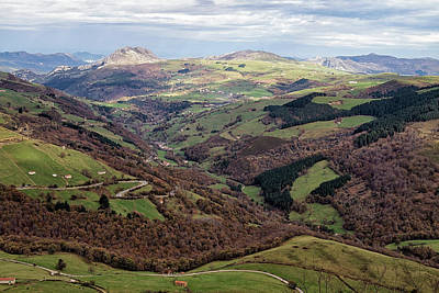 Photograph - Mountains Of Cantabria Spain by Shirley Mitchell