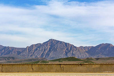 Photograph - Mountains Of Mazar-i-sharif by SR Green