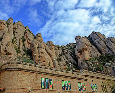 Photograph - Mountains Of Monserrat Abbey by Allan Levin