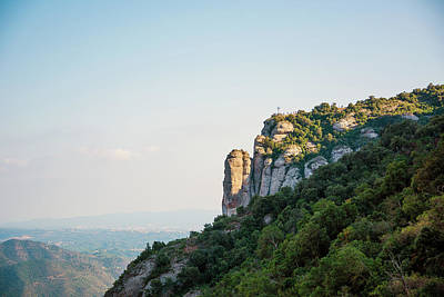 Mountains Of Montserrat Art Print
