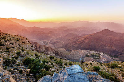 Photograph - Mountains Of Oman by Alexey Stiop