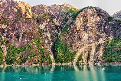 Photograph - Mountains Of The Fjord by Lewis Mann