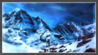 Digital Art - Mountains Of The South  by Mario Carini