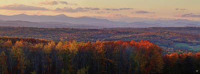 Photograph - Looking Up Carrabassett Valley by John Meader