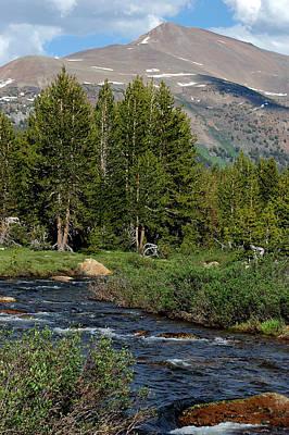 Hiking Photograph - Mountains Of Yosemite River View by LeeAnn McLaneGoetz McLaneGoetzStudioLLCcom