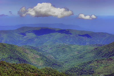 Photograph - Mountains - Sky - Great Smokies by Nikolyn McDonald