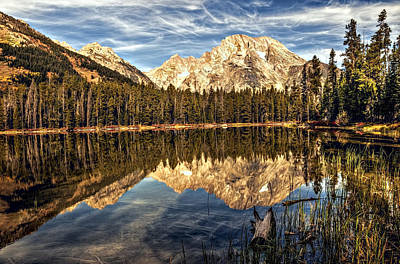 Photograph - Mountains And Trees And Water by Maria Coulson