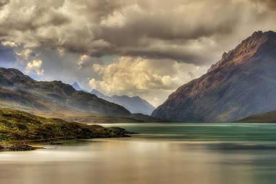Photograph - Mountainscape At White Lake by Roberto Pagani