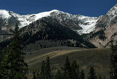 Photograph - Mountainscape by John Schneider
