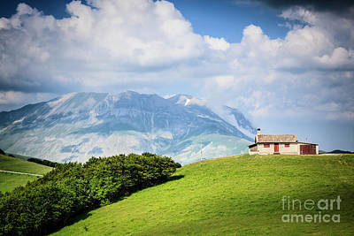 Photograph - Mountainscapes 1 by Arnaldo Tarsetti