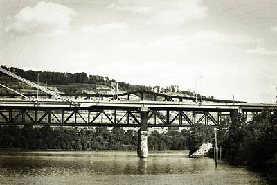 Photograph - Mountainside Bridges by Roberta Byram