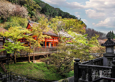 Photograph - Mountainside Of Kiyomizudera by Karen Jorstad