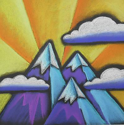 Mountaintop Original by Leon Zernitsky