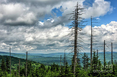 Photograph - Mountaintop View  by Thomas R Fletcher