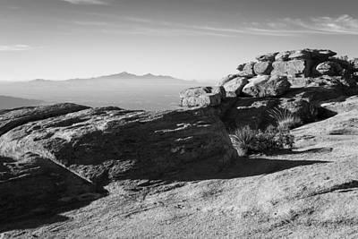 Photograph - Mountaintops by Scott Rackers