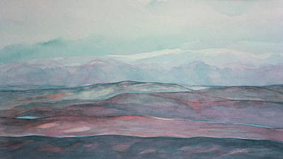 Painting - Mountainview by Dee Van Houten
