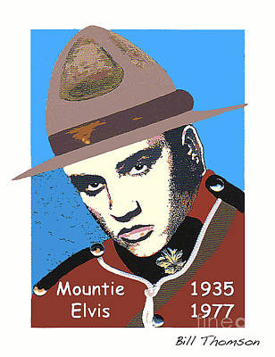 Photograph - Mountie Elvis by Bill Thomson