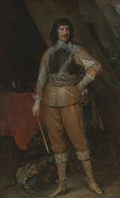 Painting - Mountjoy Blount, Earl Of Newport by Anthony van Dyck