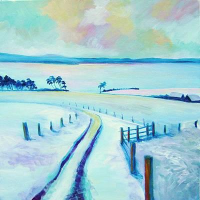 Mountpleasant Winter Art Print by Stephanie  Maclean