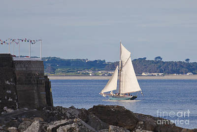 Photograph - Mounts Bay Ship by Terri Waters