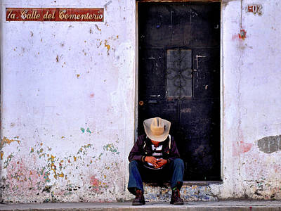 Cuba Photograph - Mourner by Dominic Piperata