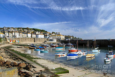 Mousehole Photograph - Mousehole by Carl Whitfield