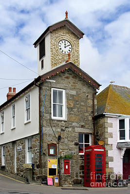 Photograph - Mousehole Communications Centre by Terri Waters