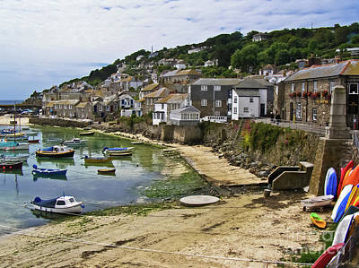 Mousehole Photograph - Mousehole Harbour Cornwall by Terri Waters
