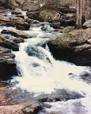 Photograph - Moutain Stream by John Lautermilch