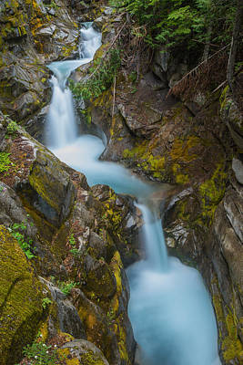 Photograph - Moutain Waterfalls 5857 by Chris McKenna