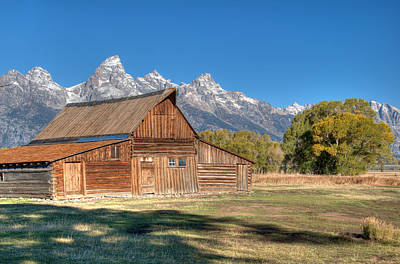Photograph - Mouton Barn by Steve Stuller