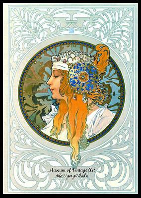 Mova Poster Profile Left 2015 Art Print