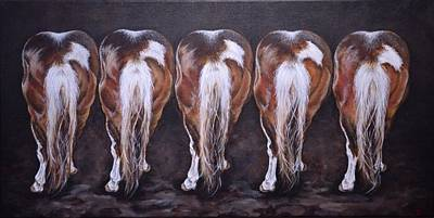 Painting - Move Em Out by Traci Goebel