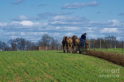 Amish Photograph - Move The Earth by David Arment