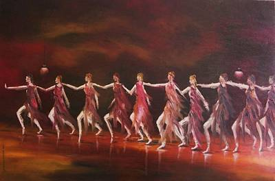 Portfolio Painting - Movement And Music by John Williams