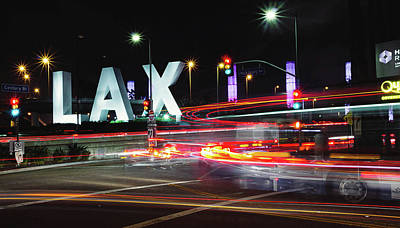 Photograph - Movement At Lax by April Reppucci