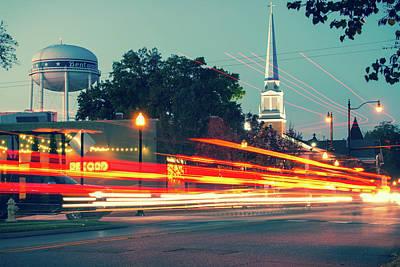 Photograph - Movement - Bentonville Arkansas Street Photography by Gregory Ballos