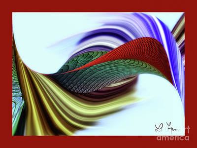 Digital Art - Movement Between Systems by Leo Symon