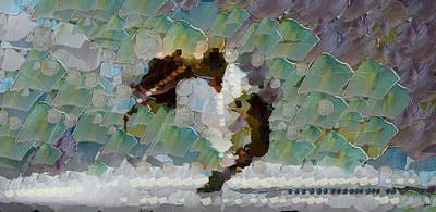 Movement Theory - Ballerina Art Print by Sir Josef - Social Critic -  Maha Art