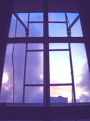 Rose - MoveOnArt Window Watching Series 5 by Jacob Kanduch