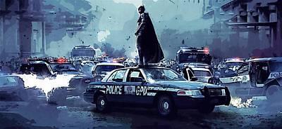 Batman Digital Art - Movie Batman Art by Egor Vysockiy